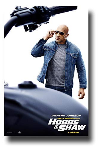 Amazoncom Fast And Furious Hobbs And Shaw Poster Movie