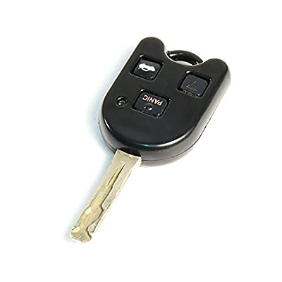 STAUBER Best Lexus Key Shell Replacement - HYQ1512V, HYQ12BBT - NO Locksmith Required Using Your Old Key and chip! - Black: Automotive