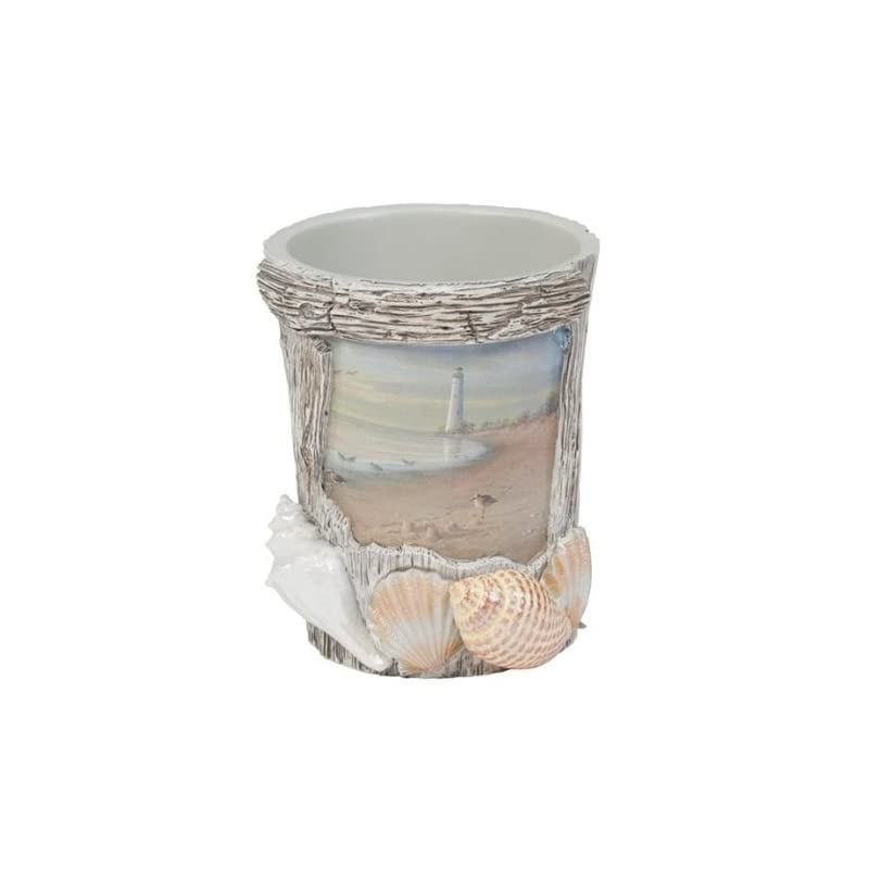 Sullivans Pearlescent Seashell Decorative Glass Plate