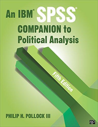 BUNDLE:  Pollock: An IBM SPSS® Companion to Political Analysis, 5e + CQP SPSS 24