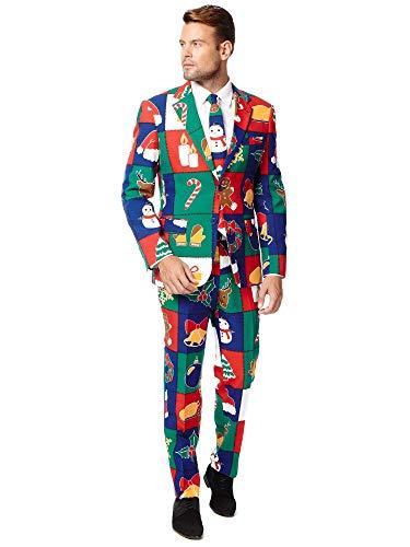 Quilty Pleasure Christmas suit