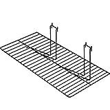 Slatwall Wire Shelf Fits Gridwall Pegboard Slatgrid Display Black Lot of 12 New
