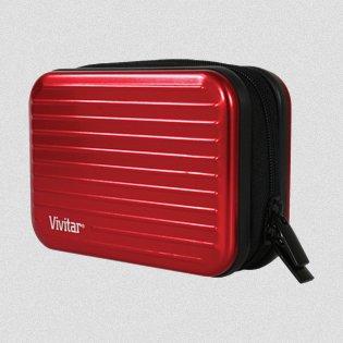 Vivitar Aluminium Case - Red