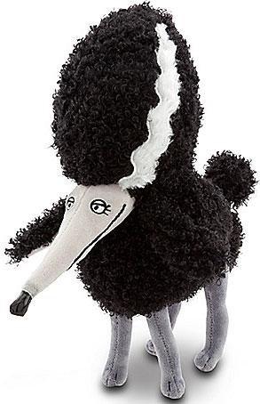 "Disney / Tim Burton Frankenweenie "" Persephone "" Dog Plush Doll 12 Inches Long"