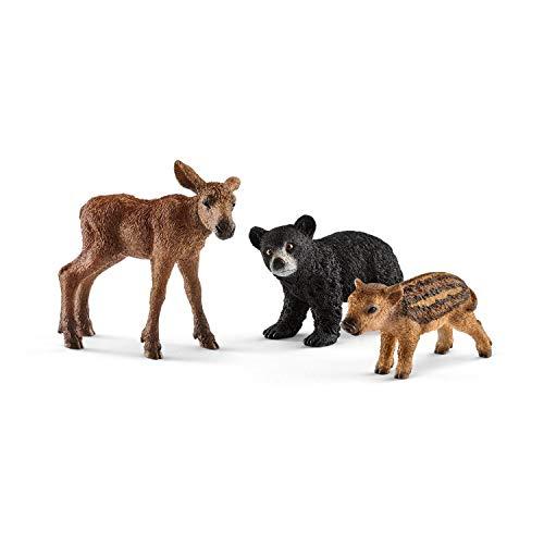 Schleich Forest Animal Babies Set (Schleich Bear)