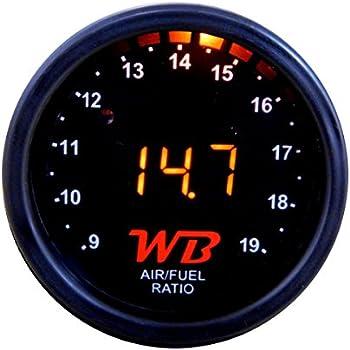 Amazon com: Koso BA003214 Mini 3 Air/Fuel Ratio Meter