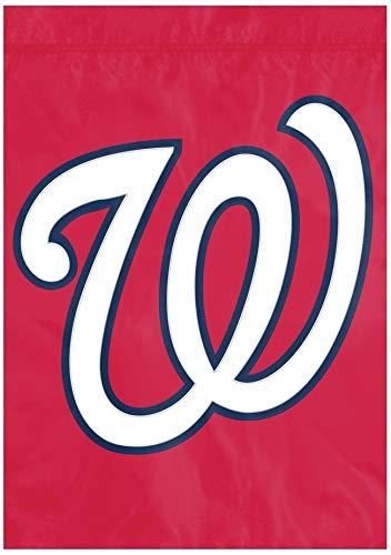 The Party Animal Washington Nationals Premium Garden Flag Applique Embroidered Outdoor House Banner Baseball (Pa Store Washington Hardware)