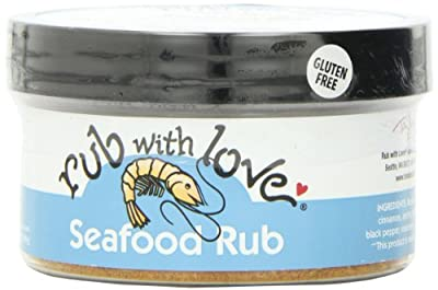 Chef Tom Douglas Rub With Love Seafood Rub, 3.5 Ounce