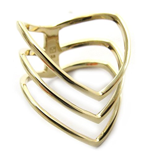 Plated ring gold 'Cleopatra' (Cleopatra Ring Band)