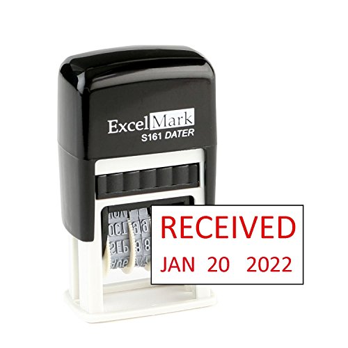 ExcelMark Received Date Stamp - Compact Size