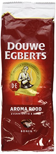 Douwe Egberts Ground Coffee - 2 Packs Douwe Egberts Aroma Rood Whole Beans Coffee x 17.6oz/500g
