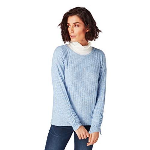 Roadsign Damen T Shirt Sommer Shirts Top Tunika Bluse Blusenshirt