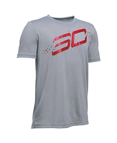 Under Armour Boys' SC30 Player T-Shirt X-Large / 18-20 Big Kids Steel