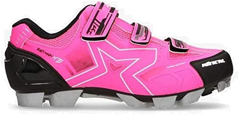 MITICAL Zapatillas Ciclismo Rosas (Talla: 36): Amazon.es: Zapatos ...