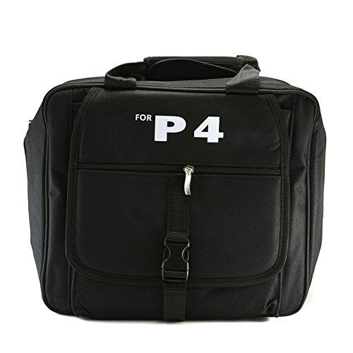 Pba Main Controller - Goliton Deluxe Console carry bag case in car for Sony Playstation 4 PS4 - Black