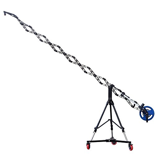 PROAIM Powermatic Scissor 17ft Retract - Telescopic Electronic Camera Crane + Heavy-duty Stand + Anchor Dolly for 3-Axis Camera Gimbals - DJI Ronin, Movi | For Video, Film, TV Productions (JB-SCSR-01) ()