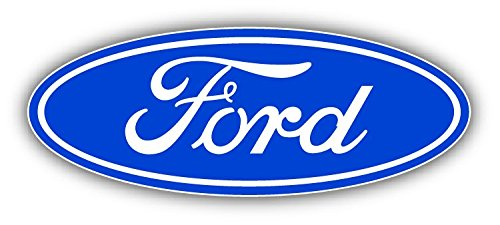 Ford Logo Auto Classic Car Bumper Sticker Decal 6' X 3' Paradice