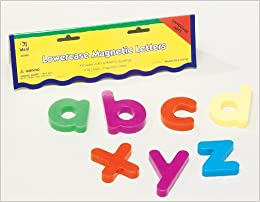 Magnetic Lowercase Alphabet Letters (Large Magnetic Letters and ...