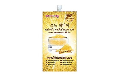 6 Pieces  Best Korea Gold Caviar Collagen Serum 10 Ml