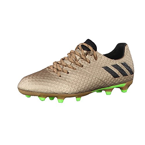 adidas Messi 16.1 Fg J, pour les Chaussures de Formation de Football Mixte Enfant, Marron (Marrone Bronzo/Cobmet/Negbas/Versol), 28 EU