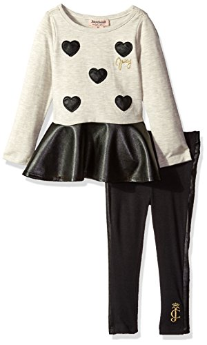 juicy-couture-little-girls-toddler-2-piece-tunic-and-legging-set-with-pleather-accent-oatmeal-3t