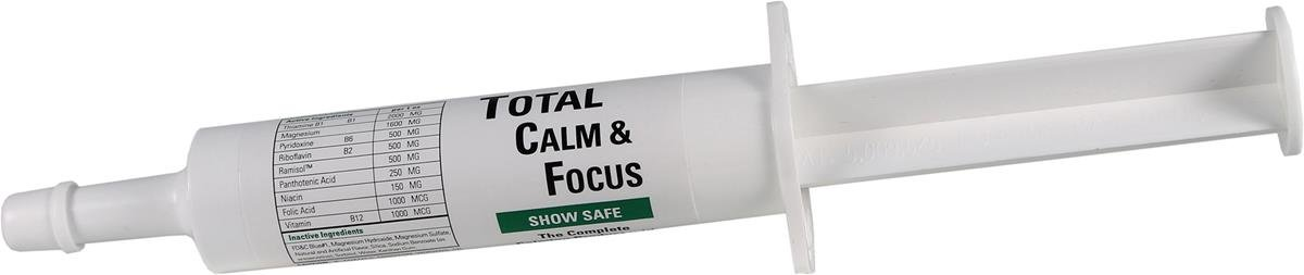 Ramard 079049 Total Calm & Focus Show Safe Syringe for Horses, 1 oz by Ramard