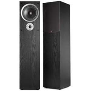 Polk Audio R300 Black Two-Way Floor-Standing Loudspeaker (Single)