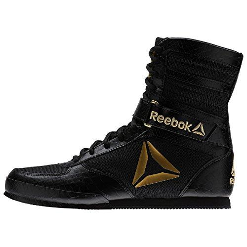 Reebok Heren Boksen Boot-buck Crosstrainer Zwart / Goud