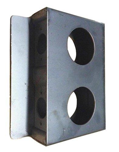 Gate Lock Box (Steel Gate Lock Box - Double Hole)
