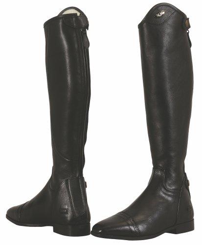 TuffRider Ladies Regal Dress Leather Tall Riding Boots Black Width Regular (Horse Riding Equestrian)
