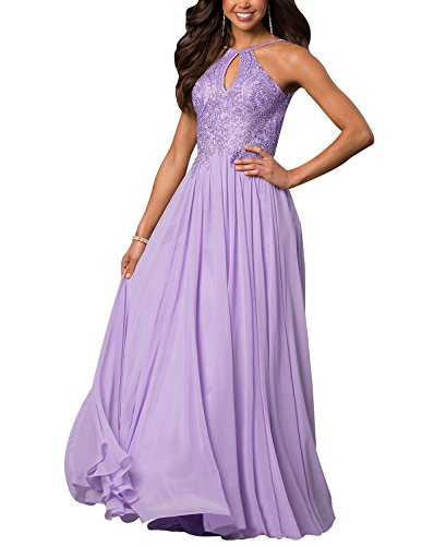 lilac and gold dress - 1