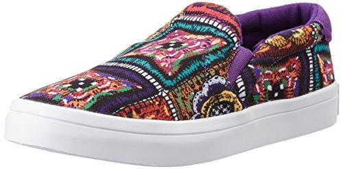 adidas Courtvantage Slip, Sandalias con Plataforma para Mujer Multicolor