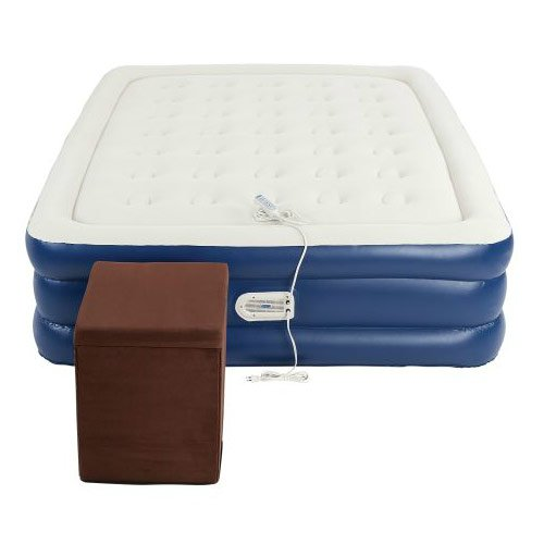 Coleman Queen Air Mattress with Ottoman by Aero (Image #2)