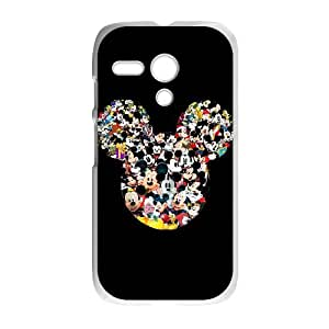 Motorola G Cell Phone Case White Mickey Mouse Lyfvp