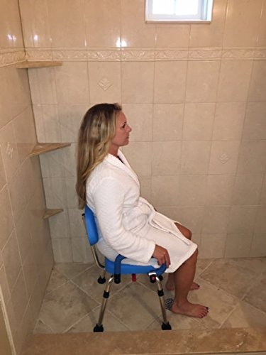 Platinum Health Revolution Pivoting Shower Chair with Padded Back and Arms by Platinum Health (Image #2)
