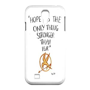 Customized The Hunger Games Phone Case, Personalized Hard Back Phone Case for SamSung Galaxy S4 I9500 The Hunger Games