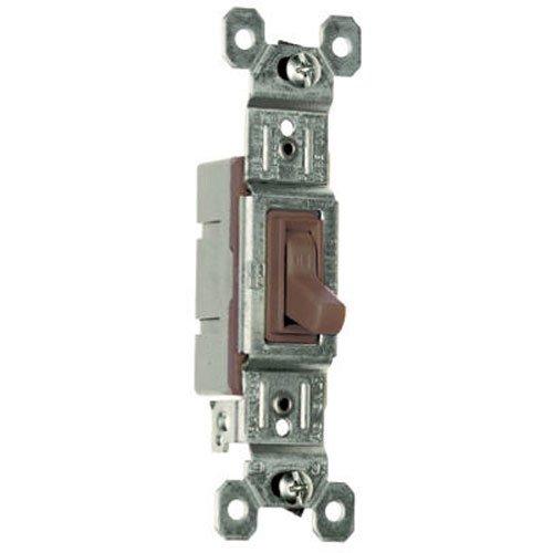 PASS & SEYMOUR 660GUCC18 15A 120V Brn SP Switch
