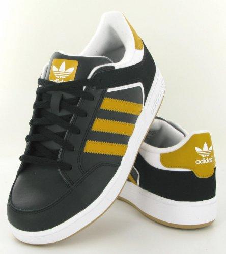 adidas Originals VARIAL J G56445, Unisex - Kinder Sneaker, black/running white/craft gold, EU 38 2/3
