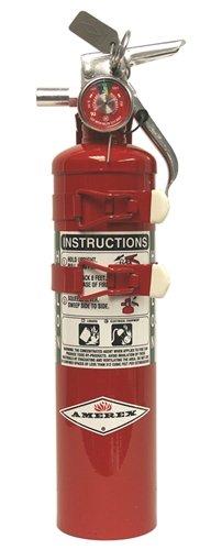 Amerex C352TS, 2.5lb Halon 1211 Class B C Fire Extinguish...
