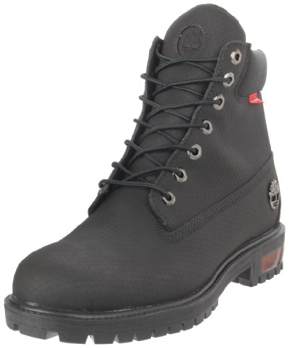 Timberland Men's 6-Inch Scuff-Proof Lace-Up Boot - Black ...