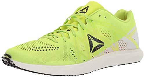 Reebok Floatride Run Fast Pro Shoe, Lime/White/neon red/Black, 8 5 M US
