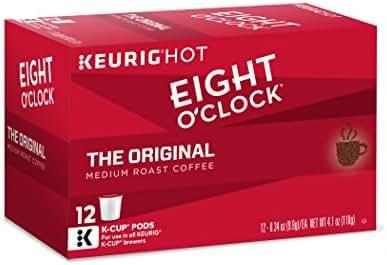 Eight O'Clock Coffee The Original, Keurig K-Cups, 12 Count, (Pack of 6)