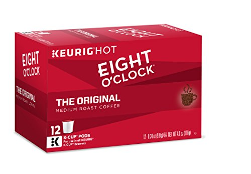 Sweet Coffee Keurig - Eight O'Clock Coffee The Original, Keurig K-Cups, 12 Count, (Pack of 6)