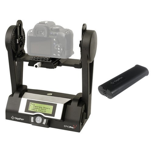 GigaPan EPIC Pro V Robotic Camera Mount with Additional Battery Kit by GigaPan