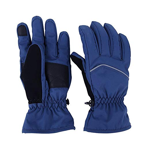 Sports & Entertainment Initiative Warm Gloves Windproof Non-slip Waterproof Touch Screen Ski Gloves For Outdoor Sports Riding Yet Not Vulgar Cycling Gloves