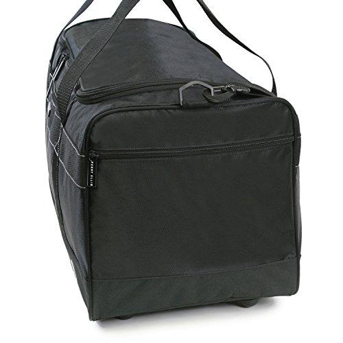 """41oNZpy1mWL - Perry Ellis 22"""" Weekender Duffel Bag, Black"""