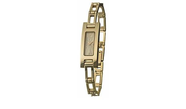 166c680884a Amazon.com  Gucci 3905 18k Yellow Gold Ladies Watch YA039528  Watches