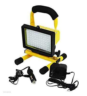 Super Bright 70 Led Rechargeable Cordless Worklight Portable 12v