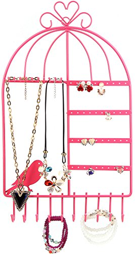 WELL STRONG Jewelry Organizer Necklace Birdcage product image