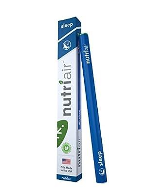 Nutriair Sleep – Nutritional Supplement Inhaler – Fall Asleep QUICKLY, Wake REFRESHED – All Natural Sleep Aid